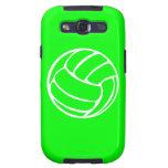 Blanco del voleibol de la galaxia S de Samsung en  Samsung Galaxy S3 Coberturas