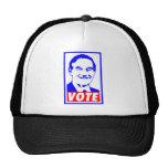 Blanco del voto 2012 de Ron Paul y azul rojos Gorros Bordados