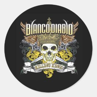 Blanco Diablo Killing Kings sticker