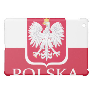 Blanco Eagle de la bandera de Polska
