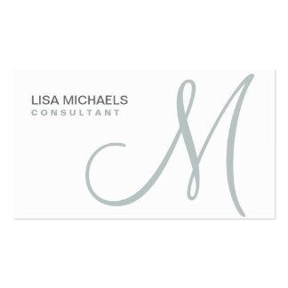 Blanco elegante profesional del artista de tarjetas de visita