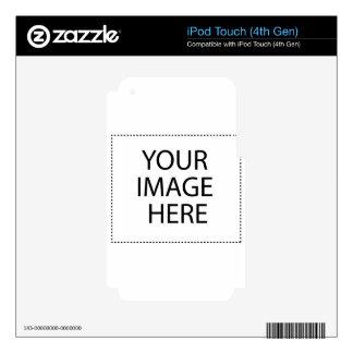 Blanco en blanco iPod touch 4G skins