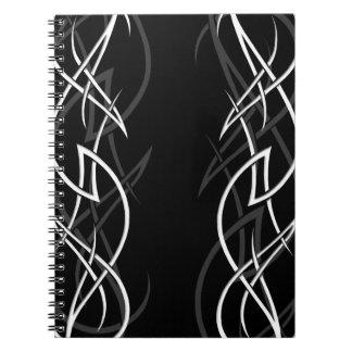 """Blanco en el cuaderno negro de la """"elegancia"""""""
