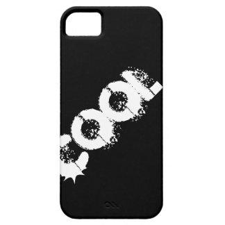 Blanco FRESCO de la palabra del Grunge en negro o  iPhone 5 Funda