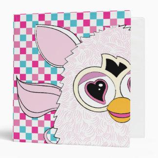 """Blanco Furby de Yeti Carpeta 1 1/2"""""""