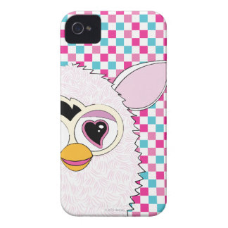 Blanco Furby de Yeti iPhone 4 Funda