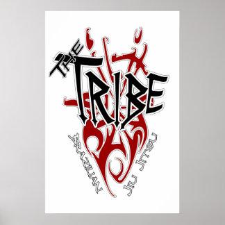 Blanco grande del poster de la tribu 22 86 x 34