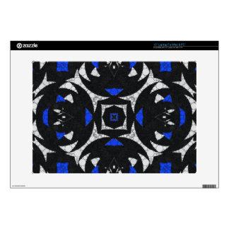 Blanco Keolidescope del negro azul Portátil 38,1cm Skin