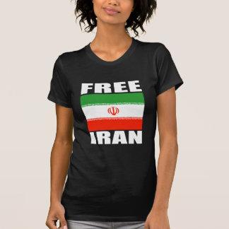 Blanco libre de la camiseta de Irán Playera