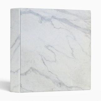 """Blanco maravilloso de mármol de ZAZZLELIST Carpeta 1"""""""