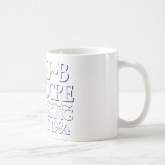 Blanco mediocre del club taza básica blanca