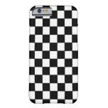 Blanco negro comprobado - iPhone 6 Casecase