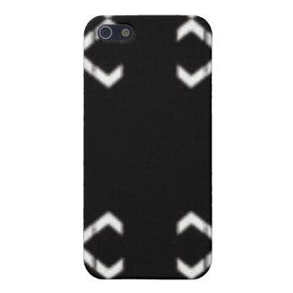 Blanco negro del abd iPhone 5 fundas