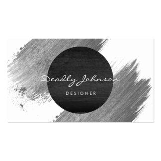Blanco negro elegante del extracto moderno de la tarjetas de visita
