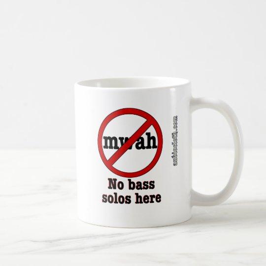 Blanco No_Bass_Solos10x10 Taza De Café