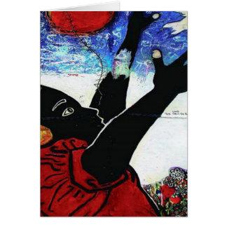 BLANCO NOIR - mcac 1920x1920 Tarjeta De Felicitación