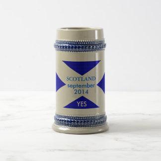Blanco obra clásica de 325 ml sí por el jarra de cerveza