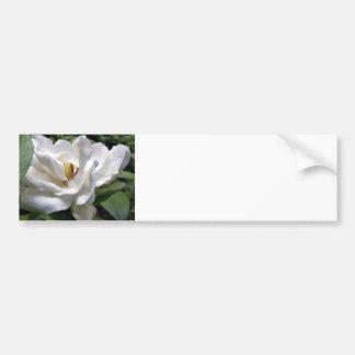 Blanco Petalscape del algodón Pegatina Para Auto