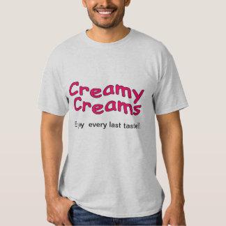 blanco poner crema cremoso camisas