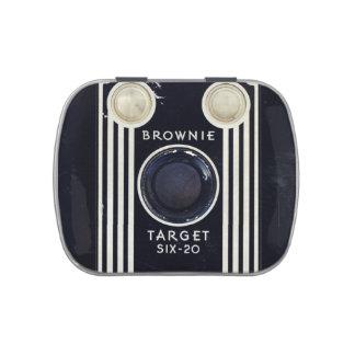 Blanco retra del brownie de Kodak de la cámara Frascos De Caramelos