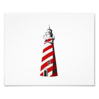 blanco rojo espiral landing png del faro impresiones fotograficas