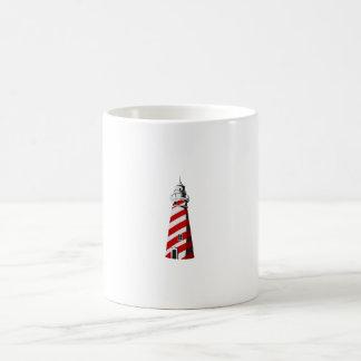 blanco rojo espiral landing png del faro taza de café