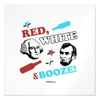 Blanco rojo y licores - dos presidentes
