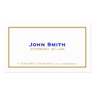 Blanco simple llano elegante profesional del tarjetas de visita