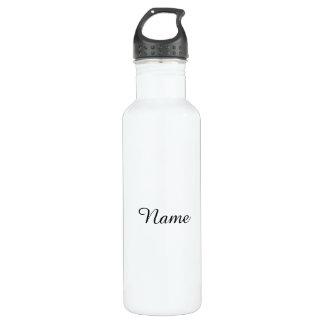Blanco sólido personalizado botella de agua