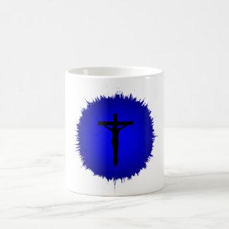 Blanco taza blanca clásica Jesús de 325 ml