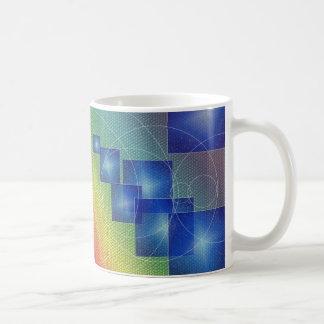 Blanco taza clásica de 11 onzas con diseño del