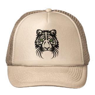 Blanco tribal del negro del tatuaje del tigre gorro de camionero