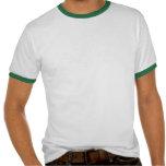 Blanco verde 1973 del 40.o cumpleaños del año del  camisetas
