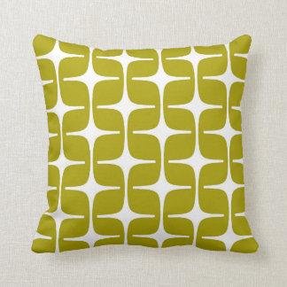 Blanco verde chartreuse del modelo del rectángulo  almohadas