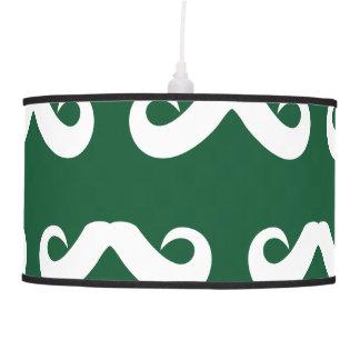 Blanco verde del bigote lámpara de techo