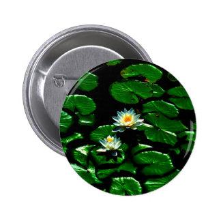 Blanco Waterlily de Lotus Pins