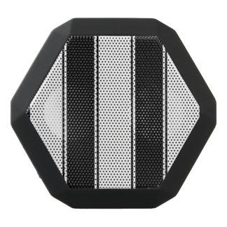 Blanco y altavoz de Bluetooth de la raya negra Altavoces Bluetooth Negros Boombot REX