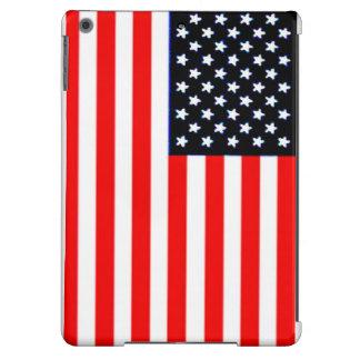 BLANCO Y AZUL DE U.S.FLAG-RED FUNDA PARA iPad AIR