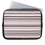 Blanco y caja rosados del ordenador portátil de la mangas portátiles