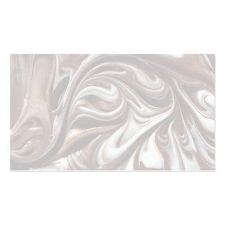 blanco y chocolate con leche tarjetas de visita
