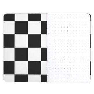 Blanco y negro a cuadros