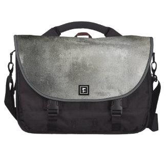 blanco y negro abstracto del grunge del arte textu bolsas de portatil