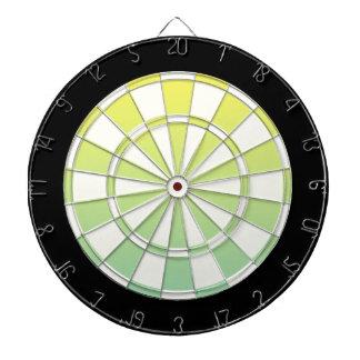 Blanco y negro amarillo verde