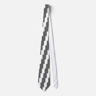 Blanco y negro deja para ir adorno de Hakuna Corbata Personalizada
