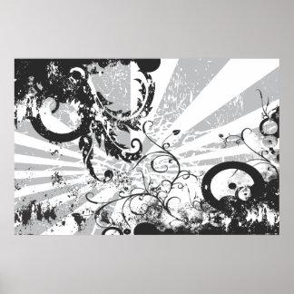 Blanco y negro: Desintegración Poster