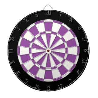 Blanco y negro púrpura