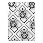 Blanco y negro retro urbano iPad mini protector