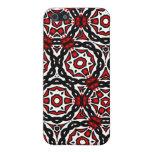 Blanco y negro rojo iPhone 5 protector