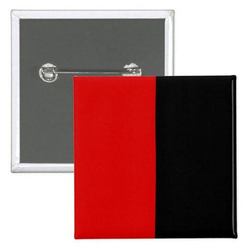 Blanco y negro rojo, Panamá Pin