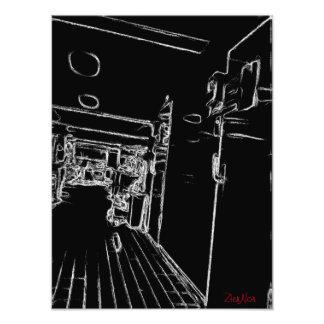 blanco y negro un cuarto arte fotografico